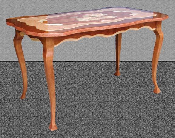 Фигурный стол